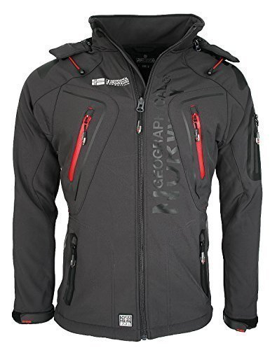3d2 geographical norway tambour herren softshell jacke outdoor dunkelgrau s - 3D2 Geographical Norway Tambour Herren Softshell Jacke Outdoor Dunkelgrau S